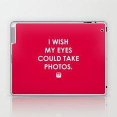 Eyes could take photos Laptop & iPad Skin