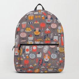 Big top treats. Funny Circus Backpack