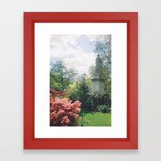 Southampton Palmerston Park, Statue Framed Art Print