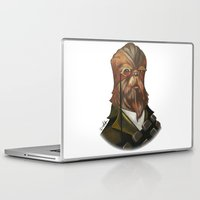 chewbacca Laptop & iPad Skins featuring Sir Chewbacca by theMAINsketch