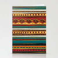 tribal Stationery Cards featuring Tribal by Klara Acel