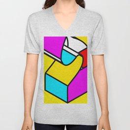 Abstract Art #9 Unisex V-Neck