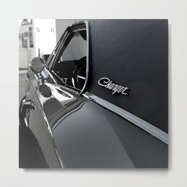 1968 Dodge Charger R/T - 5,6 Metal Print