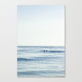 Waiting Out at Sea Canvas Print