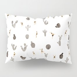 Black and white desert Pillow Sham