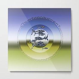 Countercourrent fish Metal Print