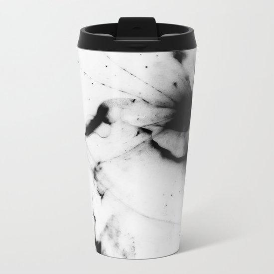 Minimalist abstract Metal Travel Mug