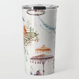 Enchanted Forest Chinoiserie Travel Mug