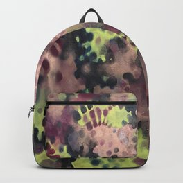 Moss- Fantasy Oil Pastel  Backpack