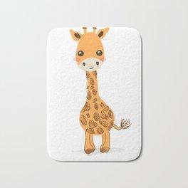 Cute giraffe nursery decor Bath Mat