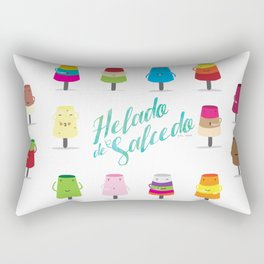 Salcedo's Ice-Cream 2.0 :: Helado de Salcedo 2.0 Rectangular Pillow