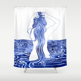 Nereid XI Shower Curtain