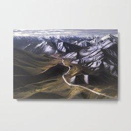 Driving Through A Dream (New Zealand) Metal Print