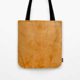 Dante Orange Stucco - Luxury - Rustic - Faux Finishes - Venetian Plaster Tote Bag