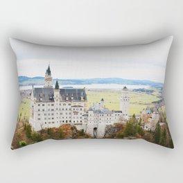 Neuschwanstein Castle Germany Rectangular Pillow