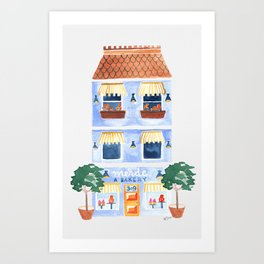 merde bakery Art Print
