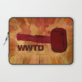 WWTD WHAT WOULD THOR DO – 057 Laptop Sleeve