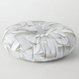3d pattern,abstraction Floor Pillow