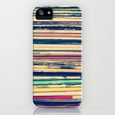 Vinyl  Slim Case iPhone (5, 5s)