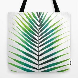 Tropical Palm Leaf #1 | Watercolor Painting Tote Bag
