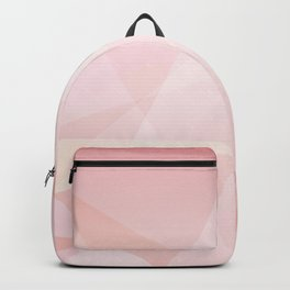 Abstract polygonal landscape Backpack