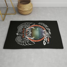 King of the Anarchic World Rug