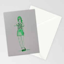 green gal Stationery Cards