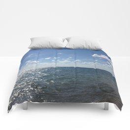 Ocean Horizon Comforters