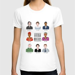 Famous Writers - Literal Hotties T-shirt