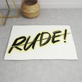 Rude Rug