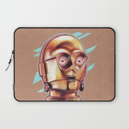 Golden Robot C3PO Laptop Sleeve
