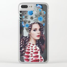 Queen Lana Clear iPhone Case