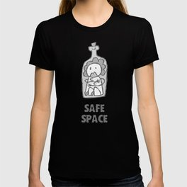 Safe Space  - Woman - With text T-shirt