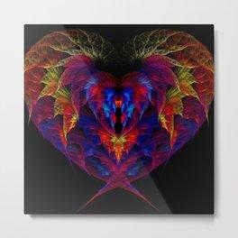 Heart of Fire Metal Print