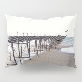Victorian Pier - sunset graphic Pillow Sham
