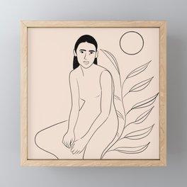 Pure Love Framed Mini Art Print