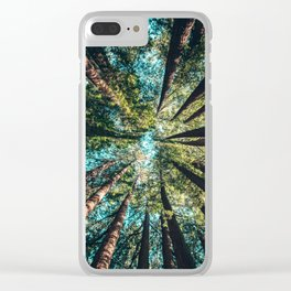Tree Canopy Clear iPhone Case