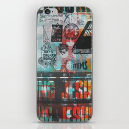 King Jesus iPhone Skin