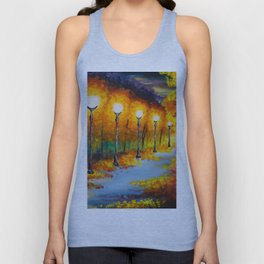 Lights will guide you home Unisex Tank Top