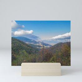 Blue Ridge Peaks Mini Art Print