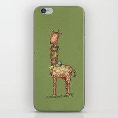 Cleo - green iPhone & iPod Skin