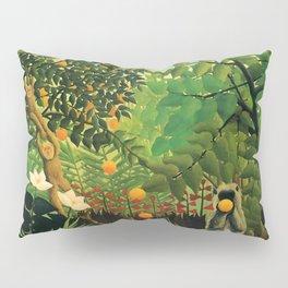 """Henri Rousseau """"Exotic landscape"""", 1910 Pillow Sham"""