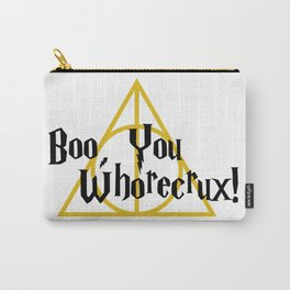 Boo, You Whorecrux Carry-All Pouch