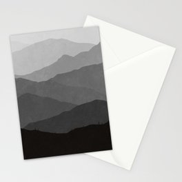 Big Mountain Fog Stationery Cards