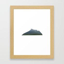 Appalachian Geometry Framed Art Print