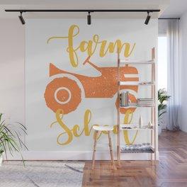 Born To Farm Wall Mural