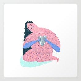 Girl Band #2 Art Print