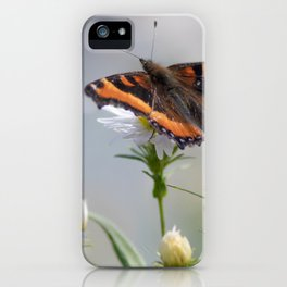 Butterfly By The Channel iPhone Case