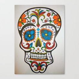SUGAR SKULL #1 Canvas Print
