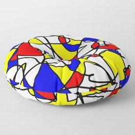 Mondrian Sneeze Floor Pillow